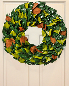 Modern Living Wreath