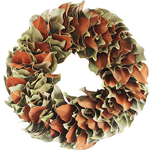 Original Magnolia Wreath - Dried Naturally