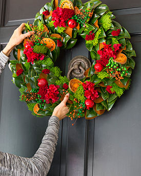 Hang Gift on Door