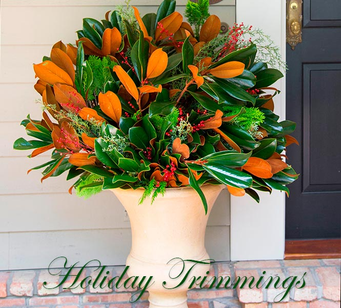 Fresh Designer Mix - Holiday Trimmings
