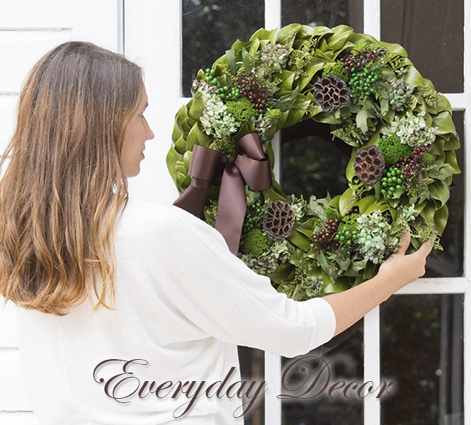 Decor for Everyday Occasions - Chocolate Verde