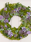 Lavender & Lime Housewarming Wreath