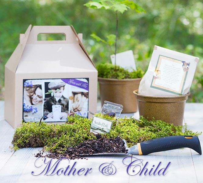 Mother's Day Grow with Me Gift Box