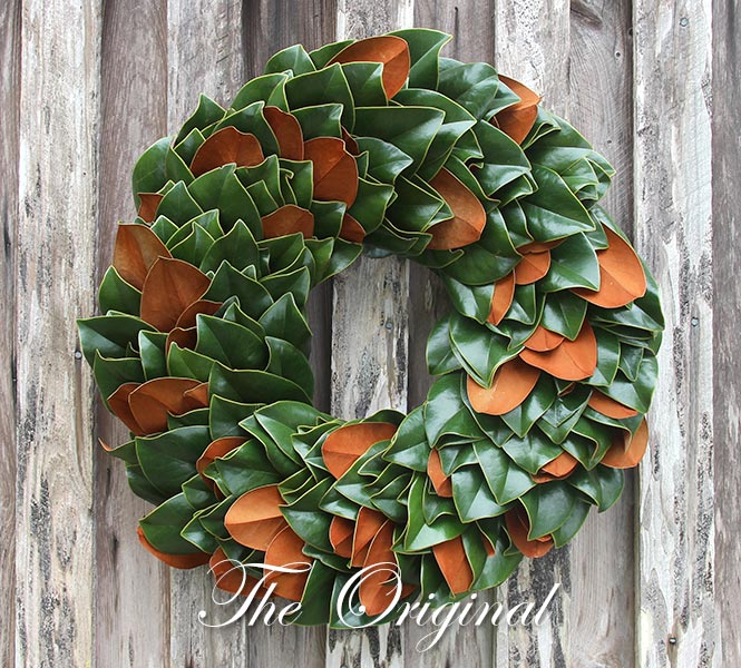 Original Magnolia Wreath