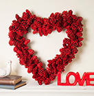 Valentine's Day Lacquer Wreaths