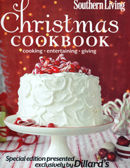 Southern Living Christmas Cookbook 2013 Exclusively for Dilliards
